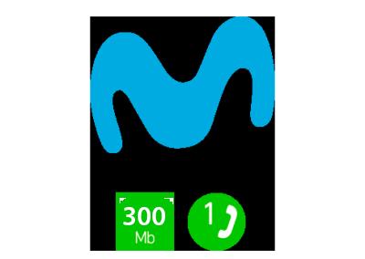 Movistar Conecta 300Mb Fibra (38€)